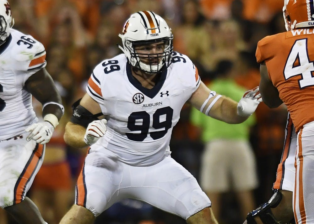 Auburn awards scholarship to 3 walk-ons