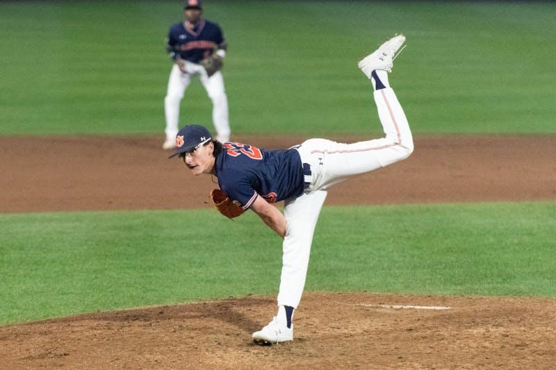 Peyton GlavineAuburn Baseball v Little Rock Friday, March 12, 2020 in Auburn, AL.Elaina Eichorn