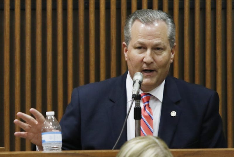 Mike Hubbard is a former Lee County statehouse representative.