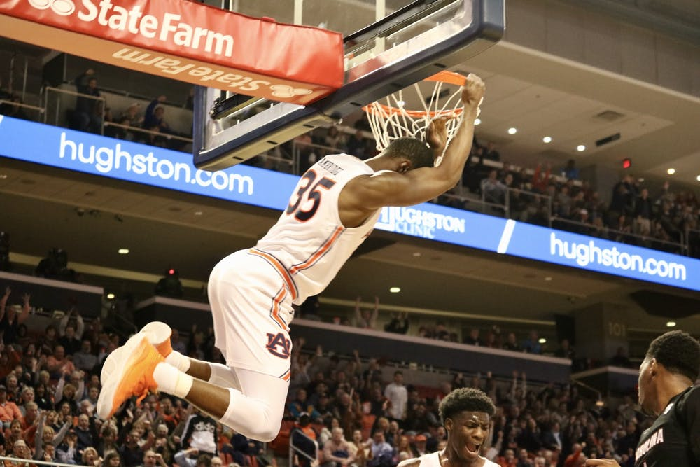 Cambridge craze: Freshman Devan Cambridge leads the way in Auburn's win over Gamecocks