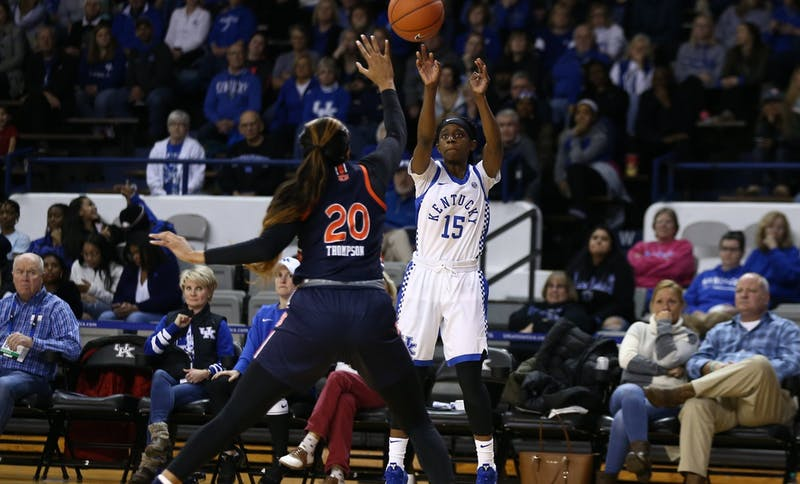 Auburn vs. Kentucky WBB via UK Athletics.