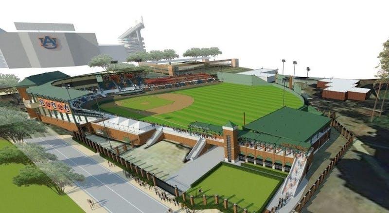 Plainsman Park rendering via Auburn Athletics.