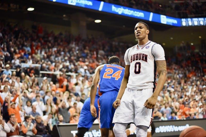 Horace Spencer (0) during Auburn Men's Basketball vs. Florida on Tuesday, Feb. 5, 2019, in Auburn, Ala.