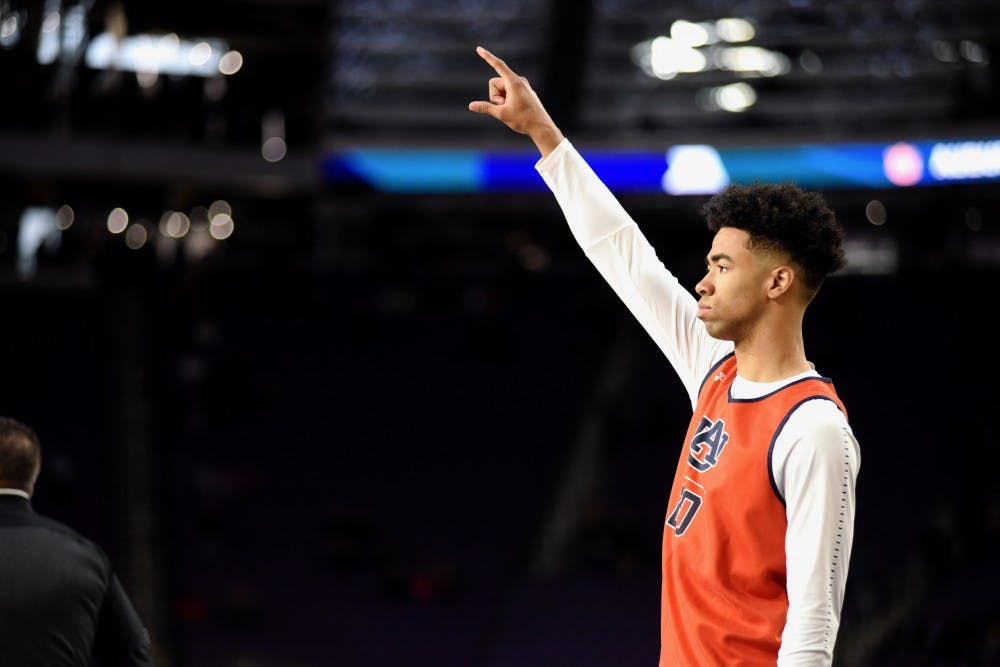 Auburn walk-on Myles Parker enjoying role at Final Four