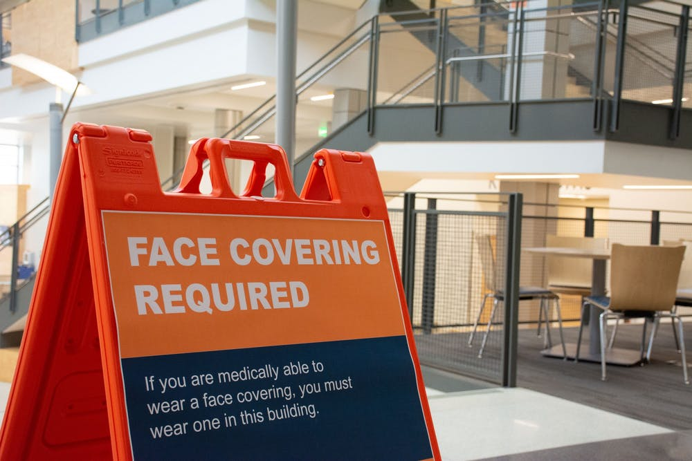 AU may employ people to remind others of COVID guidelines