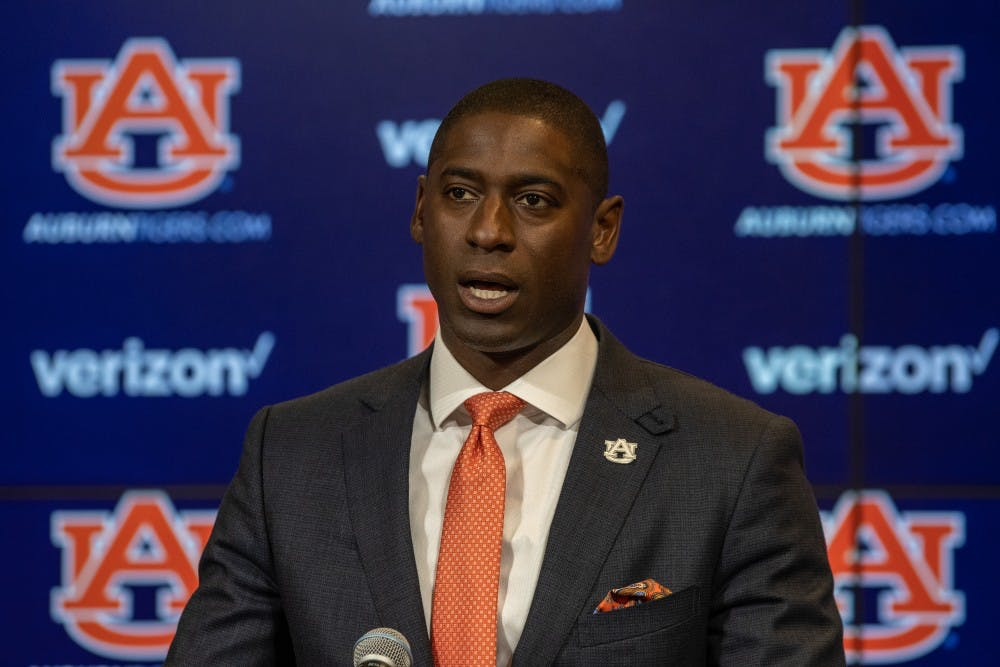 Auburn AD Allen Greene on student-athlete health, finances and other topics from his teleconference