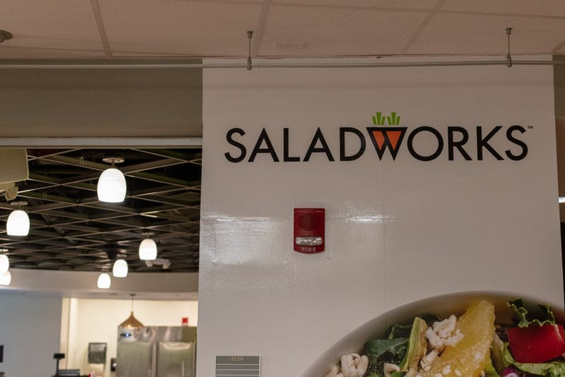 Saladworks opened on Aug. 29, 2018.