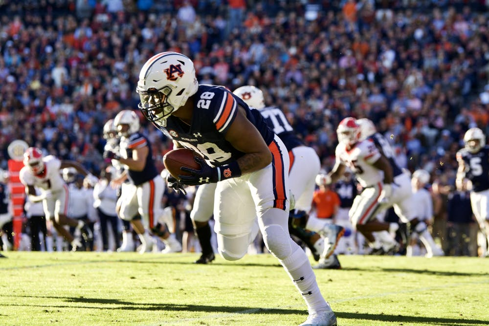 Report Card: Grading out Auburn's 21-14 loss to No. 4 Georgia