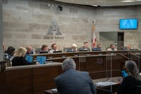 The Auburn City Council held their first meeting in the new Council chamber on April 6.
