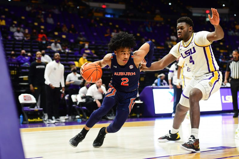 During a game at PMAC on February 20, 2021 in Baton Rouge, Louisiana. Photo by: Rebecca Warren