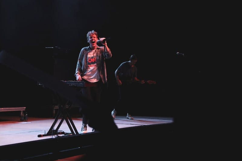 The bands LANY and COIN took the stage at the Jay and Susie Gogue Performing Arts Center on Aug. 22, 2019, in Auburn, Ala.