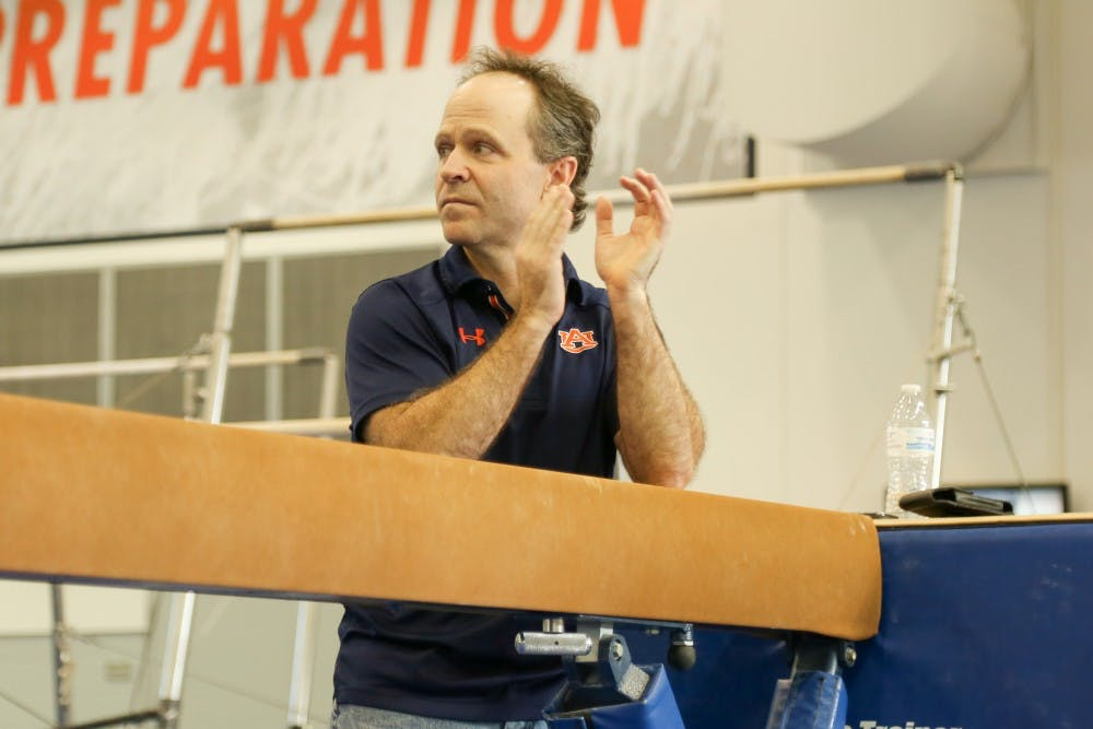 Gymnastics coach Jeff Graba giving Tigers a breather as SEC slate trudges on