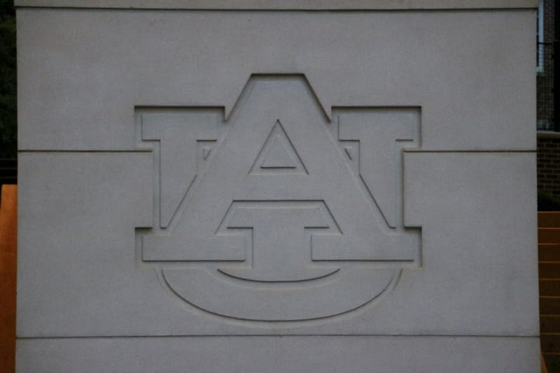The Auburn Logo located outside of South Donahue on Tuesday, Oct. 15, 2019, in Auburn, Ala.