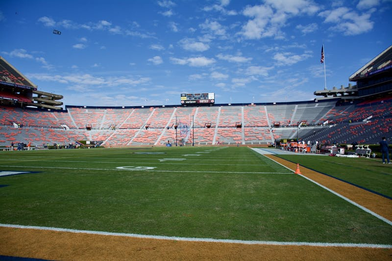 Jordan Hare Stadium during the Auburn vs. Alabama game on Saturday, Nov. 30, 2019, in Auburn, Ala.
