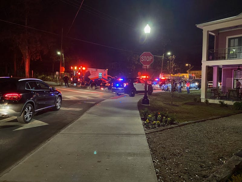 One individual said he was shot near the University Church of Christ.