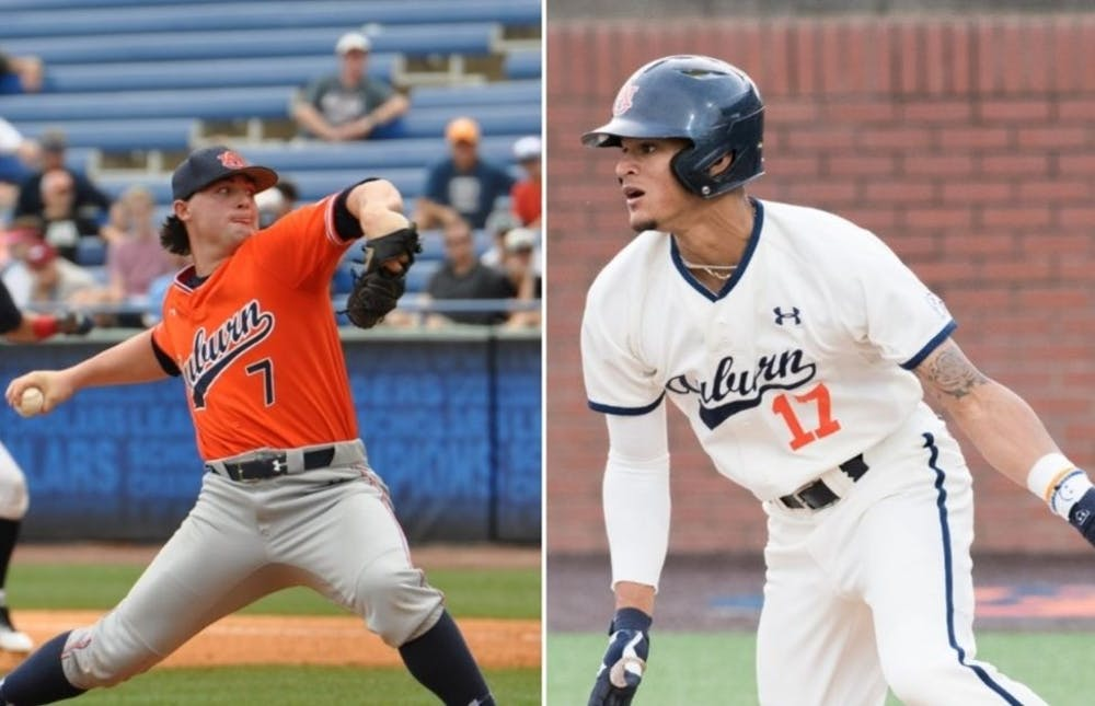 Auburn's Tanner Burns, Will Holland named preseason All-Americans by D1 Baseball