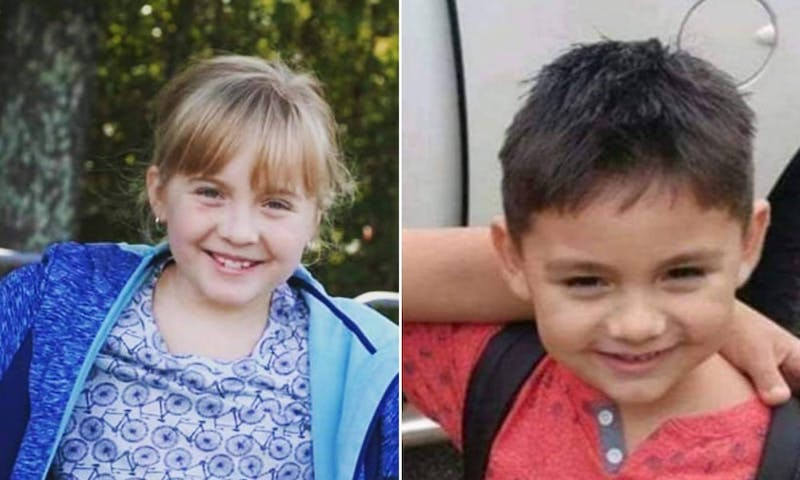 Taylor Thornton, left, age 10, and Armondo AJ Hernandez, right, age 6, were among the youngest of the tornado's victims.