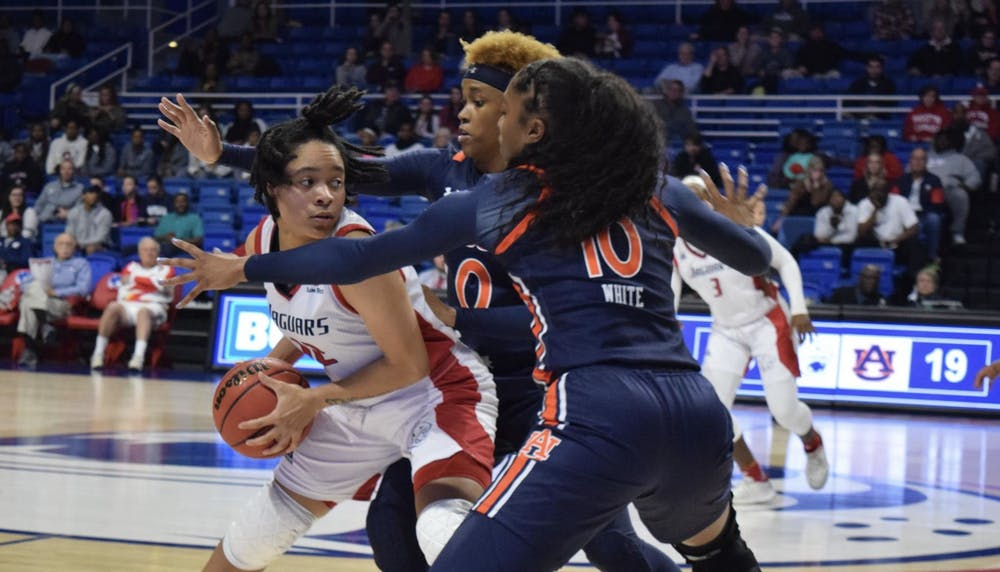 Offensive explosion leads Tigers to 82-62 victory over South Alabama