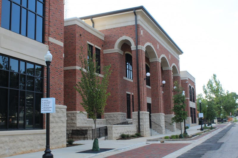 Auburn's new public safety building is home to the city's fire station, police station, City Council chamber and other public services.