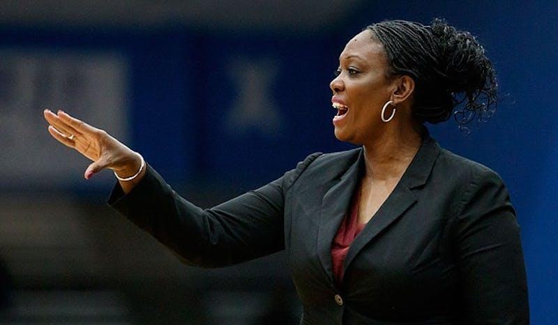 Auburn women's basketball coach Johnnie Harris. Photo via Mississippi State athletics.