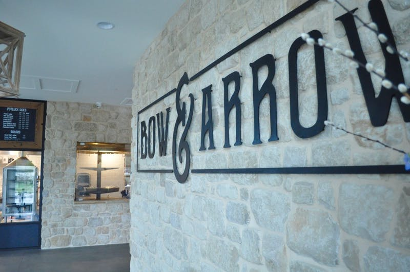 The entrance of Bow & Arrow on Friday, Nov. 2, 2018 in Auburn, Ala.