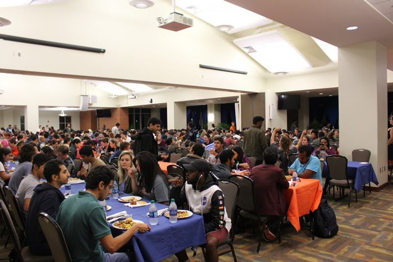 ISO hosted their annual International Peace Dinner in the student center ballroom on Wednesday, November 7, 2018.