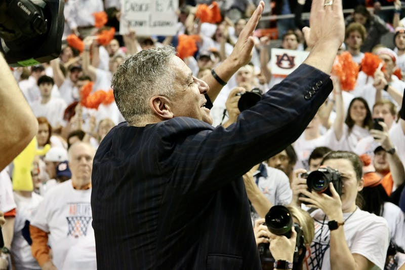 Bruce Pearl during the Auburn vs. Kentucky game on Saturday, Feb. 1, 2020, in Auburn, Ala.