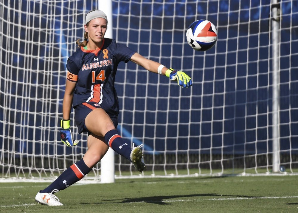 Auburn soccer returns to win column, shuts out Georgia