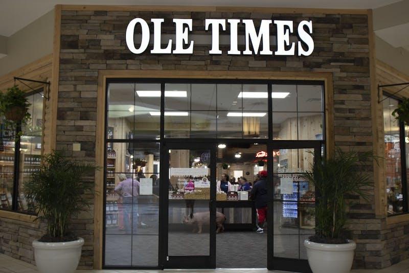 Ole Times Country Buffet open in Auburn Mall on Sept. 14, 2018 in Auburn, Ala.