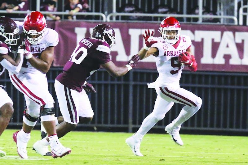 Running back Rakeem Boyd. Via SEC Media Portal.