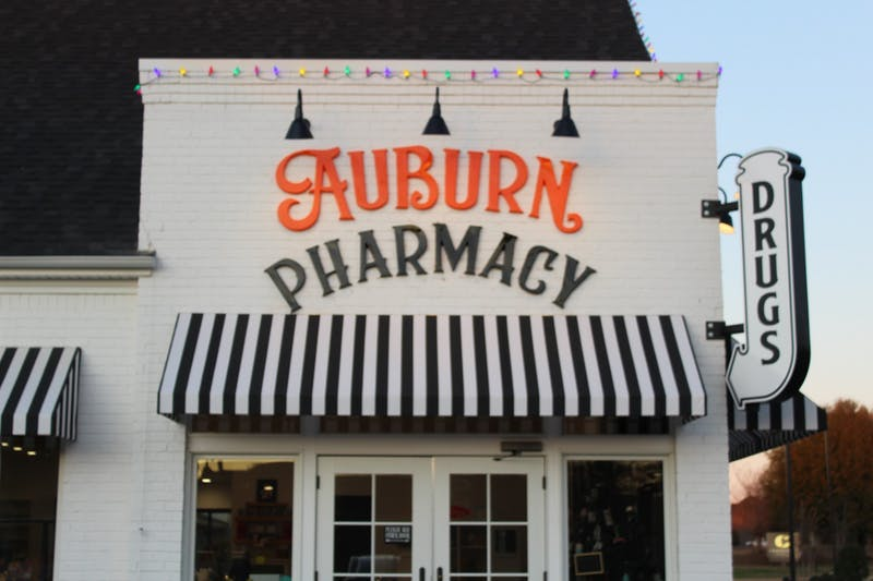 Auburn Pharmacy is located at 643 N. Dean Road.