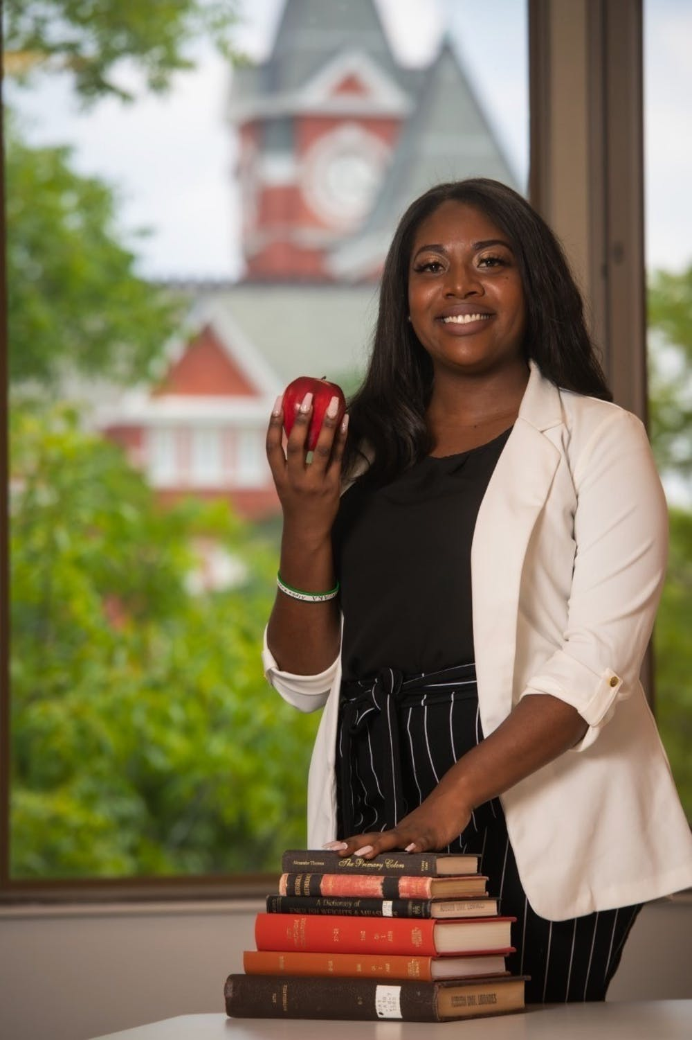 Ja'lia Taylor paves the way for underrepresented youth to attend AU