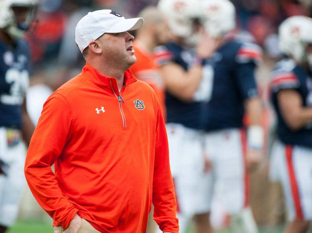 Chip Lindsey leaving Auburn to become offensive coordinator at Kansas