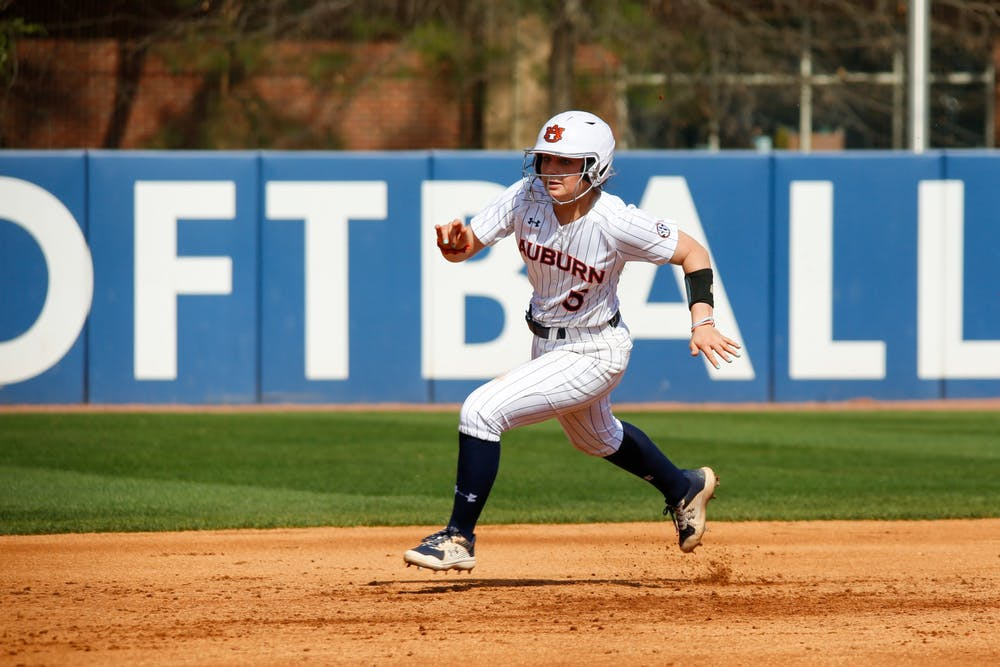 Auburn softball swept by Alabama