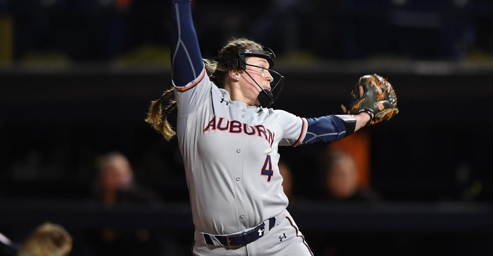 Auburn softball loses home opener for first time in program history