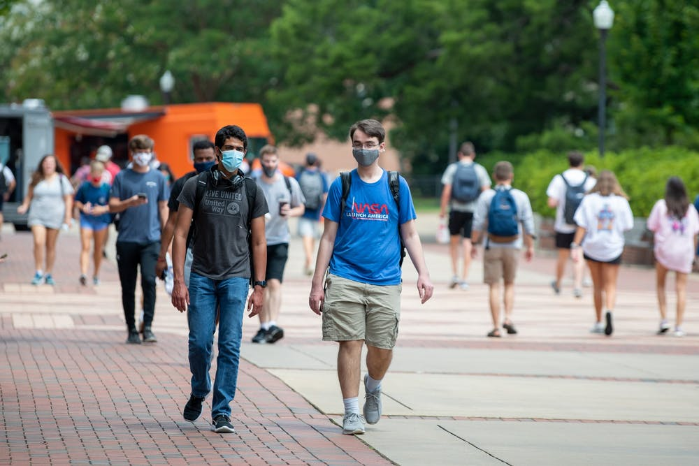 AU announces return of outdoor mask requirement