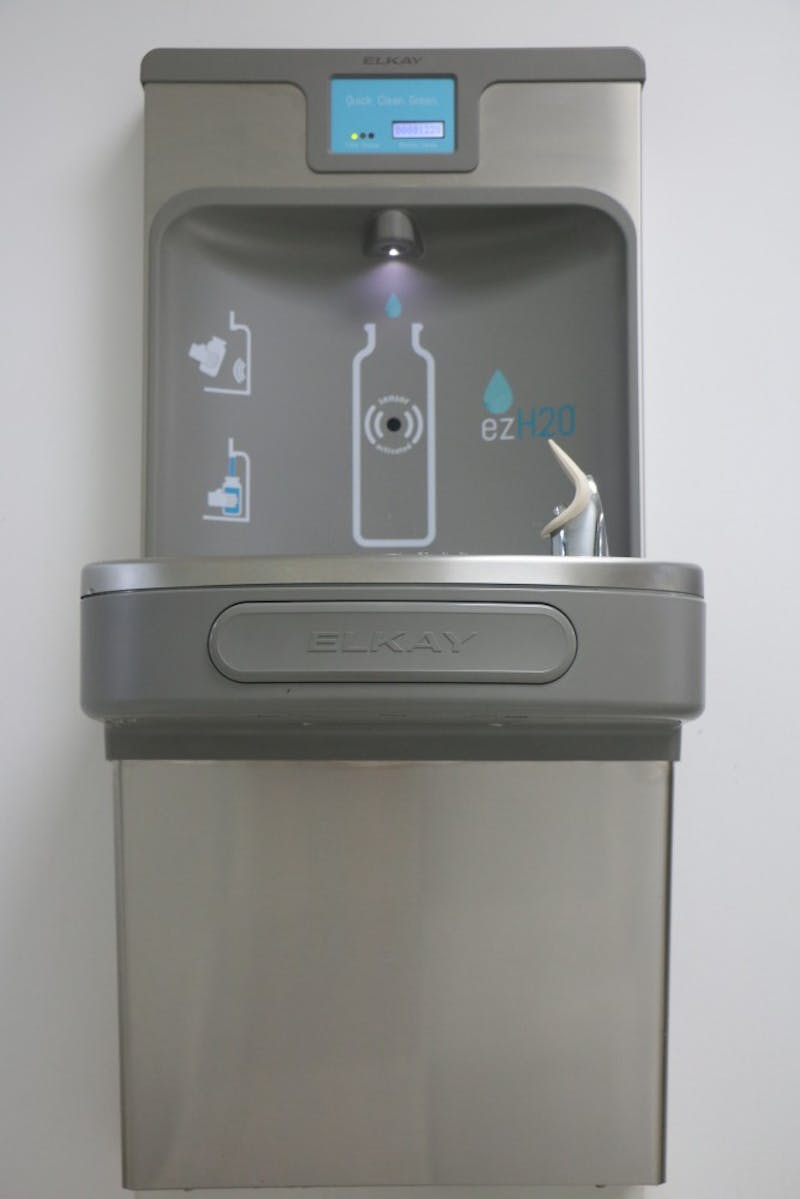 Auburn University provides weagle water filling stations all over the Auburn University Campus.