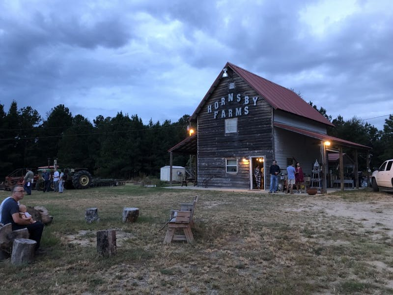 Family Supper is held at Hornsby Farms on Sept. 24, 2018,  in Auburn, Ala.
