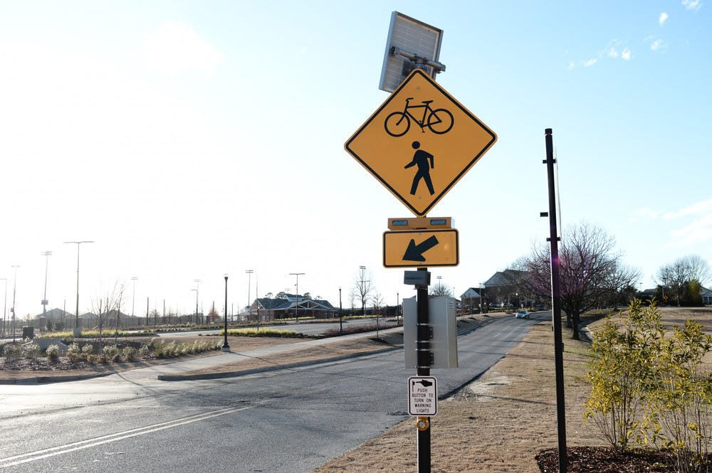 Greenway path promotes active student lifestyle