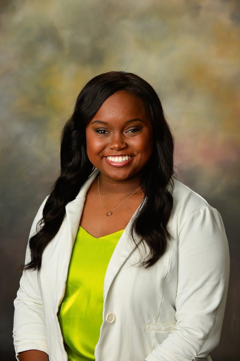 Ada Ruth Huntley, junior in global studies, is running for SGA president.