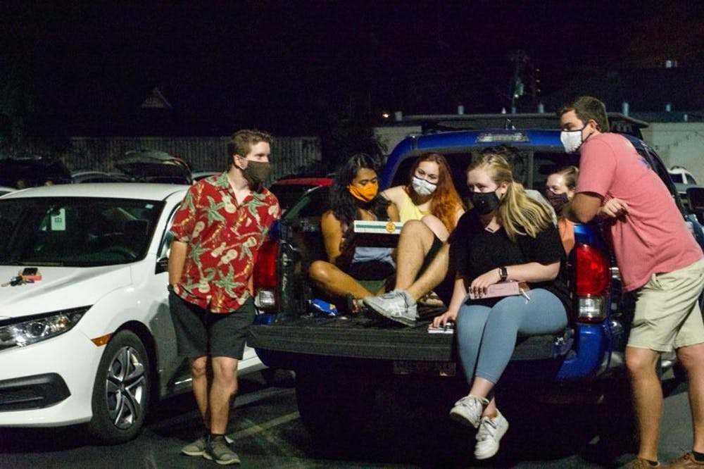Wesley Foundation offers drive-in worship services