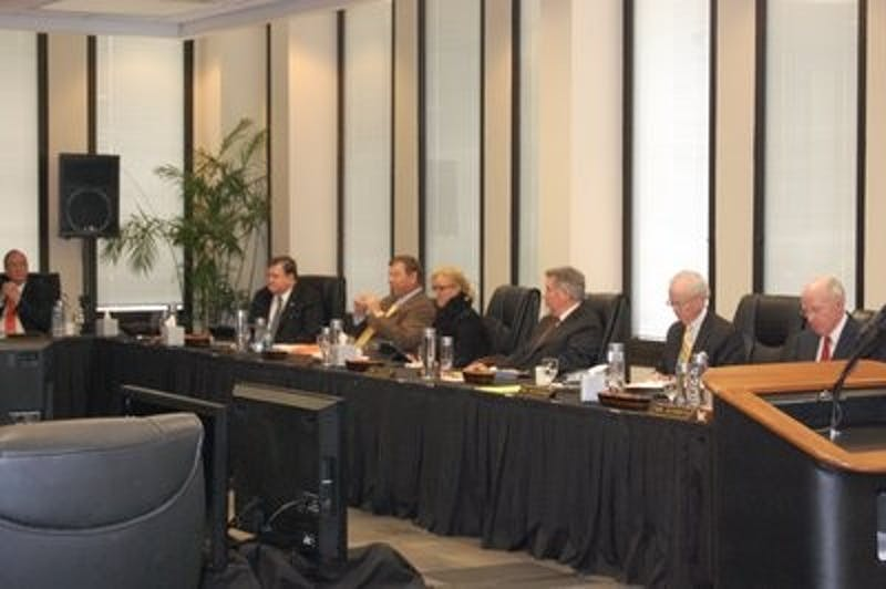The Board of Trustees met Friday, Feb. 1 to make decisions regarding new master's certificates and airport regulations. (Lance Davis / SPORTS WRITER)