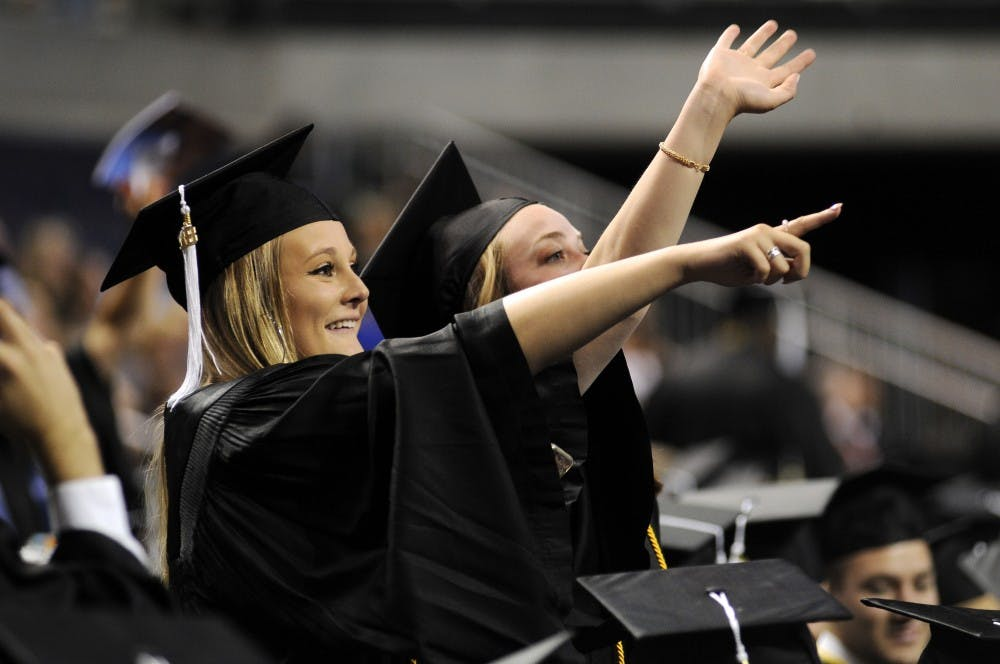 College of Liberal Arts awards over 500 degrees in Monday ceremony