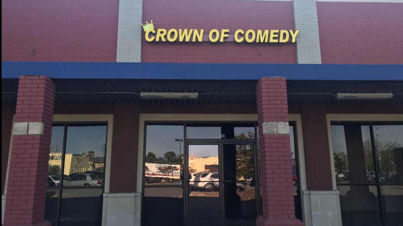 Crown of Comedy is expected to open in late October or Early November, according to the owner.