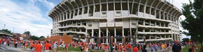 Jordan-Hare Stadium before the Auburn vs. Louisiana Tech game