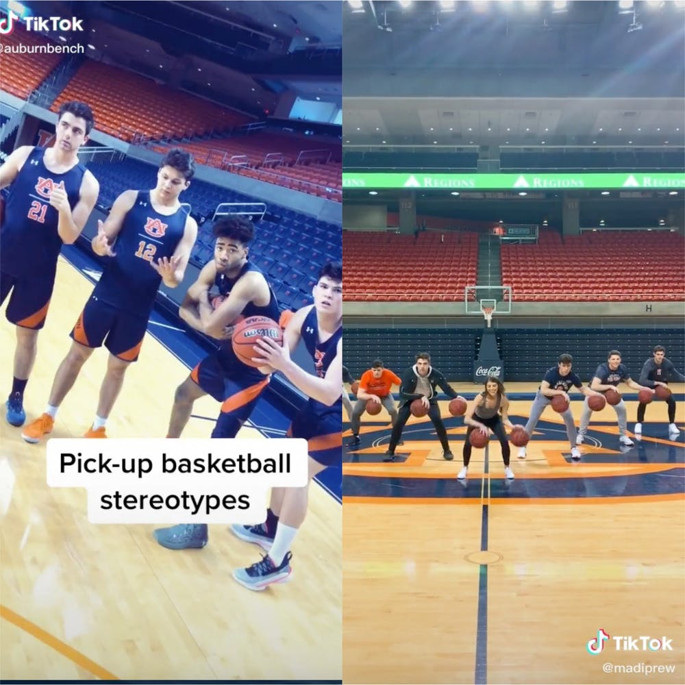 Bruce, Barkley and trick shots: Meet the Auburn bench, Auburn basketball's social media sensation