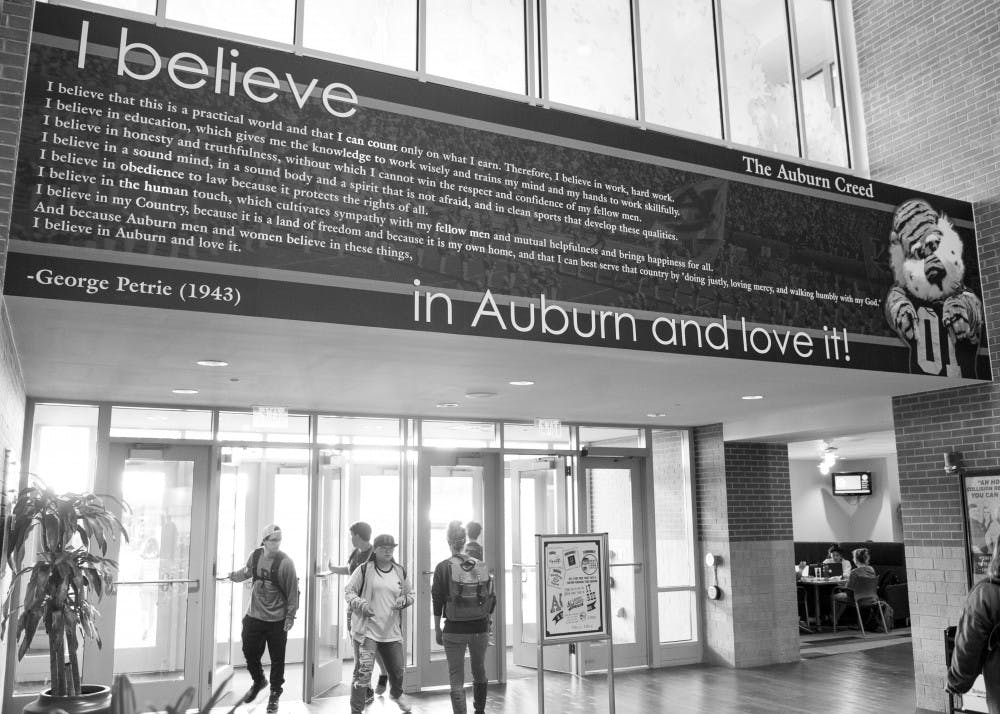 75 years of the Auburn Creed
