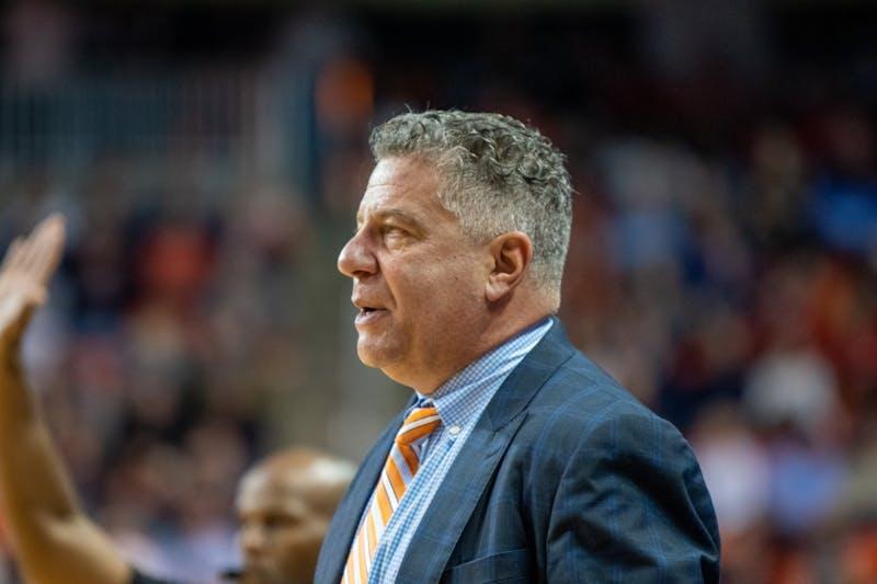 Bruce Pearl during Auburn Men's Basketball vs. Georgia, on Saturday, Jan. 11, 2019, in Auburn, Ala.