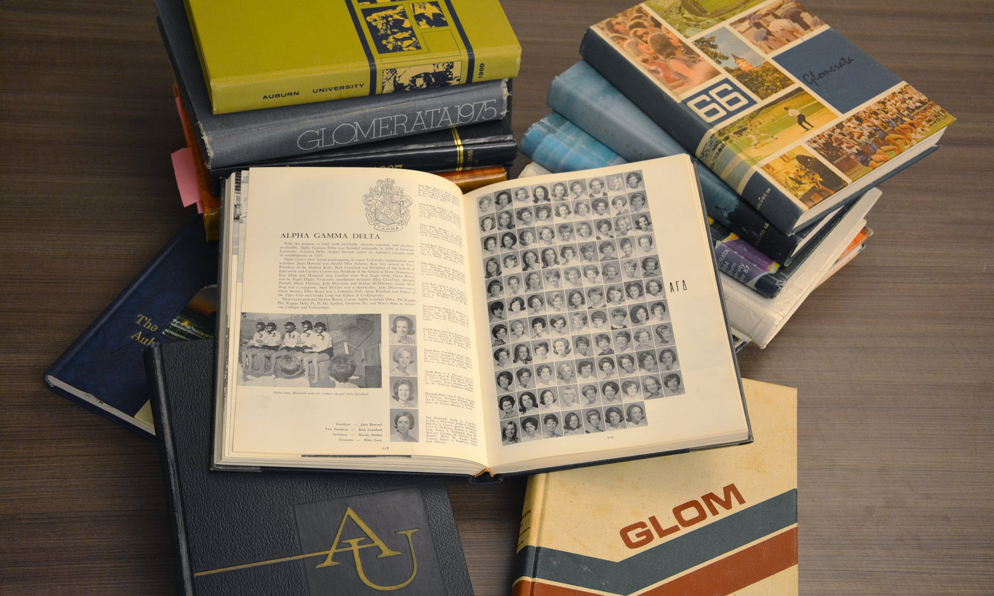 Blackface, racist photos among those in pages of old Glomerata yearbooks