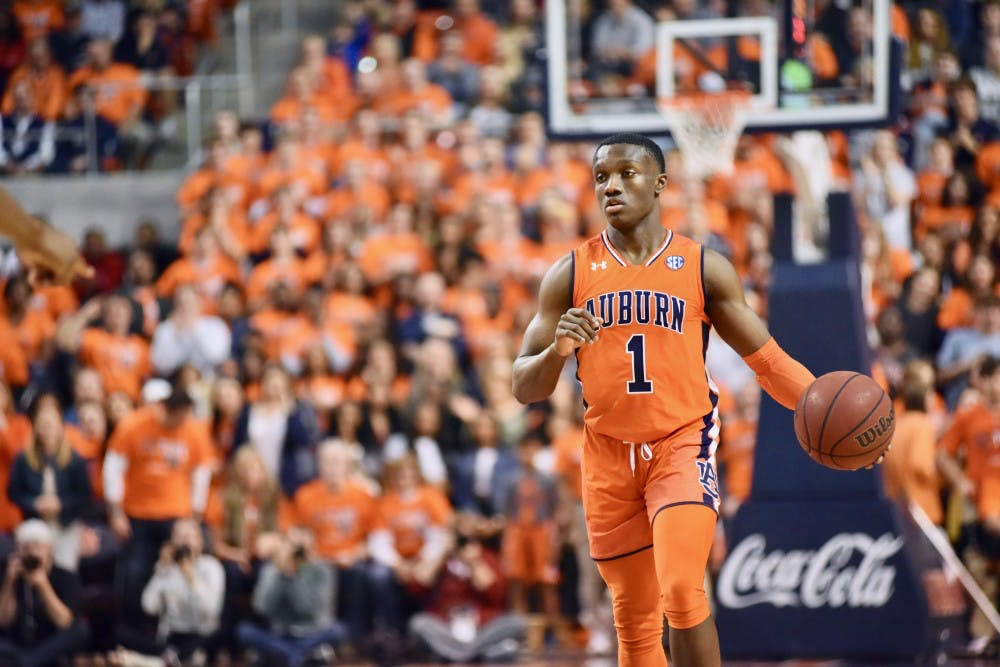 Auburn point guard Jared Harper named AP second team All-SEC